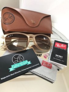 Óculos de Sol Ray Ban Justin Feminino Degradê RB 4187