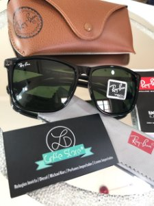 190a49772 ... coupon ray ban blaze double bridge sunglasses Óculos de sol ray ban  justin lente verde polarizado