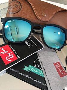 Óculos de Sol Ray Ban Erika Azul Espelhado RB 4278