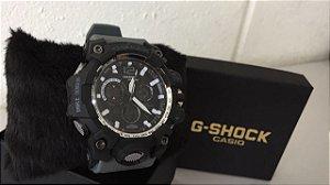 Relógio GShock Cinza Chumbo / Preto - Primeira Linha Premium