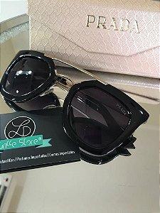 Óculos de Sol Prada Preto primeira linha premium