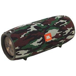 Caixa De Som Bluetooth JBL Xtreme Camuflada Bateria Recarregável Viva Voz