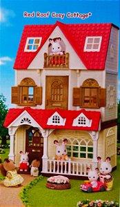 Kit Sylvanian Families Minha Primeira Casa +Doce Framboesa