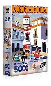 Quebra Cabeça 500 Peças Espanha  - Toyster