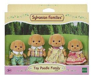 Sylvanian Families Família Dos Poodles Toy 5259 Epoch