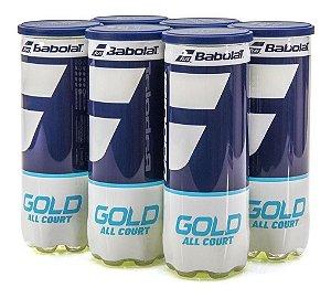 Bola De Tênis Babolat Gold All Court Kit  Com 6 Tubos