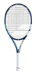 Raquete De Tênis Babolat Drive Junior 25  LO Azul e Branco