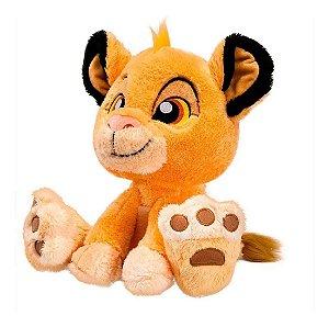Pelúcia Disney O Rei Leão Simba Big Feet Da Fun 45 Cm