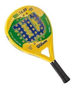 Raquete De Padel Wilson Ws 16.20 - Amarela