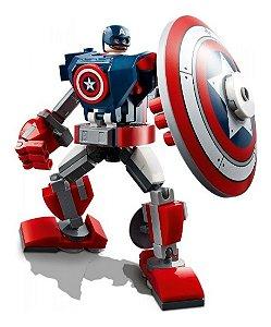 Lego Marvel Avengers Armadura Robo Do Capitão America 76168