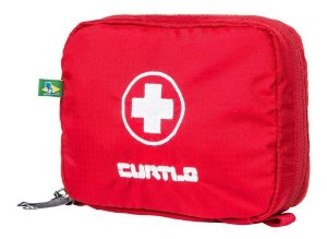 Estojo Para Primeiros Socorros Kit Ps P - Curtlo Vermelho