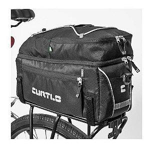 Alforje Curtlo Bik025-18 Rack Pack Rc Impermeável