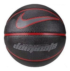Bola De Basquete Nike Dominate 8p Tamanho 7 - Preta/vermelha