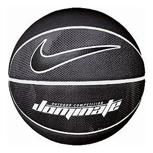 Bola De Basquete Nike Dominate Tam 7 - Preta E Cinza