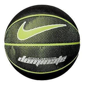 Bola De Basquete Nike Dominate 8p Tamanho 7 - Preta / Verde