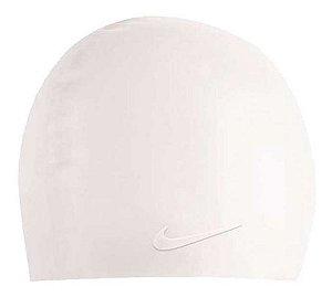 Touca De Natação Nike Solid Silicone Cap Branca