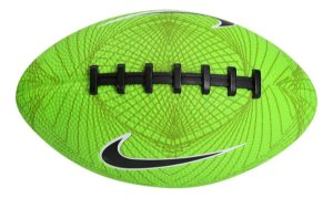 Bola De Futebol Americano Nike 500 Mini 4.0 Fb 5 - Verde