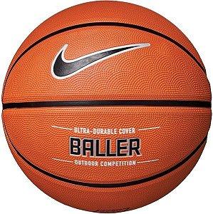 Bola De Basquete Nike Baller 8p - Tam7 - Laranja