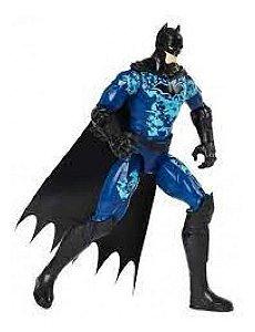 Boneco Batman - Figura De 12 Batman Teck Sunny Azul