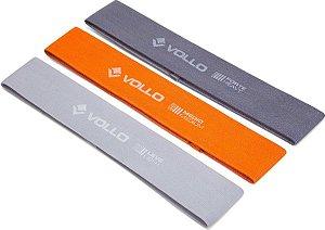 Mini Band Kit Com 3 Faixas Elasticas Poliéster - Vollo