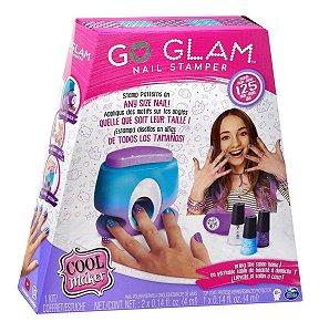 Kit Stamper Esmalte Go Glam Nail Printer Value Infantil 2130