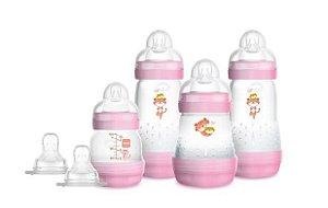 Kit Mamadeiras Mam Easy Start Gift Set Rosa  4692