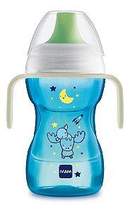 Copo Mam Fun To Drink Night 270ml Azul 4243