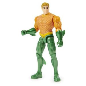 Boneco Aquaman 10 Cm 3 Acessórios Surpresas DC - Sunny 2189