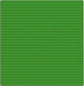 Kit 3un Lego Classic 10700 Base Verde Criativo 25x25cm