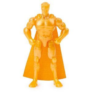 Boneco Supermam  DouradoD10 Cm 3 Surpresas  DC - Sunny 2189