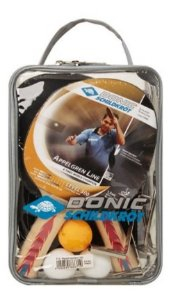 Kit Ping Pong Donic Appelgren 300 2 Player Com Rede