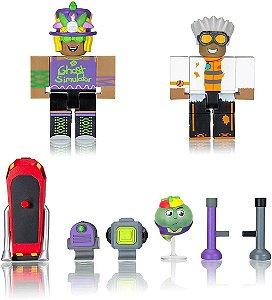 Roblox Boneco Pack 2 Figura Ghost Simulator  Sunny 2212