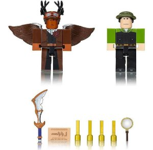 Roblox Boneco Pack 2 Figura Escape Room: Pharaoh  Sunny 2212
