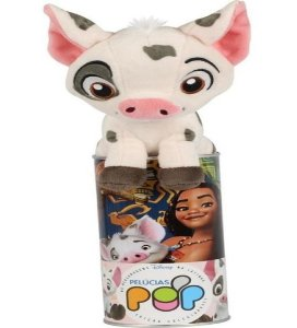 Pelúcia Pop Na Latinha Disney Pua Moana  F00589  Fun