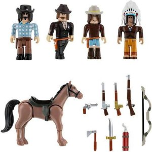 Roblox Boneco Pack Com 6 Figuras  The Wild West Sunny 2224