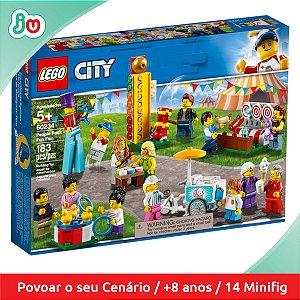 Lego City 60234 Diversão no Parque -Pack Minifigures Pessoas