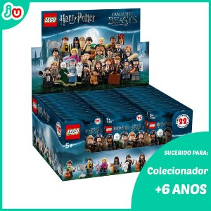 Kit Completo Lego Harry Potter Animais Fantásticos 22 Minifigures