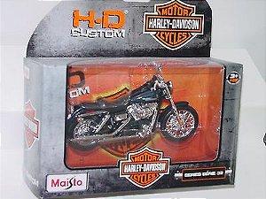 Moto Harley Davidson 2006 FXDBI DYNA Street Bob 1:18 MAISTO