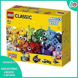 Lego Classic 11003 - 451 Peças e Olhos