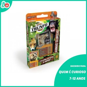 Super Trunfo Animais Selvagens Grow