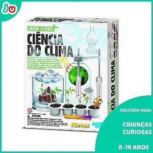 Ciência do Clima 4m Brinquedo Educativo Kidzlabs