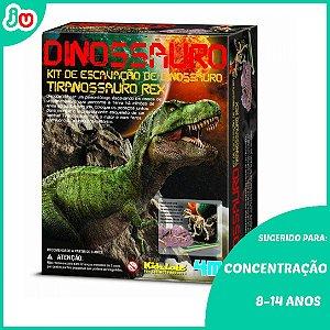 Kit de Escavação de Esqueleto 4M Kidz Labs Tiranossauro Rex