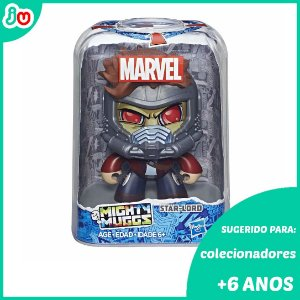 Mighty Muggs Star Lord Guardiões das Galáxias Marvel Hasbro
