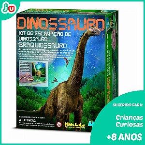 Kit de Escavação 4M Kidzlabs Dinossauros - Braquissauro