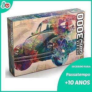 Quebra Cabeça 3000 peças Vintage Car - Grow Puzzle