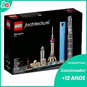 Lego Architecture 21039 Arquitetura Shanghai / Xangai 597pcs