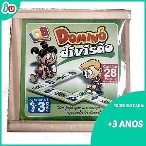 Dominó Divisão IOB - Brinquedo Pedagógico