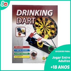 Kit Jogo Drinking Dart - Dardos c/ copos de shot