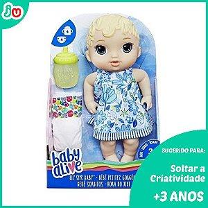 Boneca Baby Alive Hora do Xixi Loira Hasbro c/ Acessórios