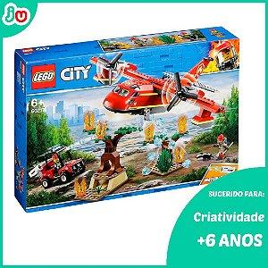 Lego City 60217 Avião de Combate ao Fogo